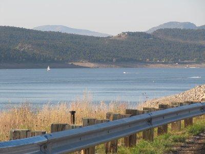 Carter Lake - taken from the dam